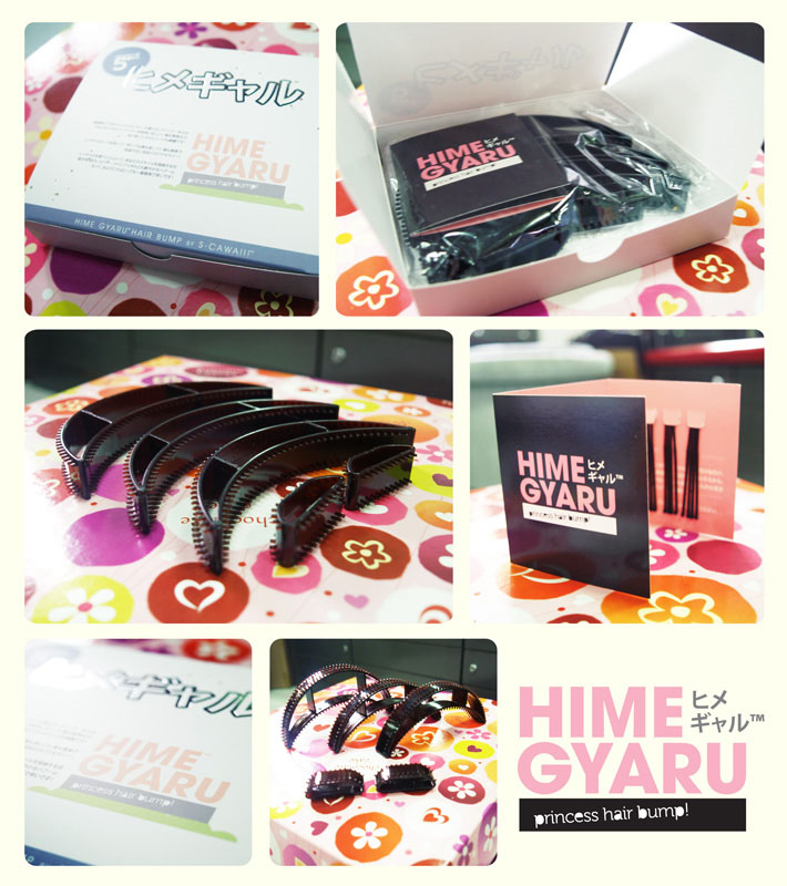 Hime Gyaru Hair Bump By S Cawaii Cawaii Hair Extension No 1